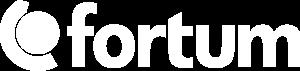 fortum logo white